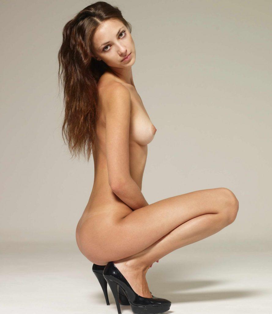 Sexy Slim Brunette